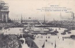 Bruxelles, Brussel, 75e Anniversare De L'indépendance Belge, Arrivée Des Combatants De 1830 (pk46727) - Fêtes, événements