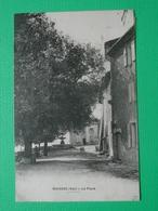 CP MOISSAC LA PLACE (83 VAR) 1911 ANIMEE FONTAINE HOMME VELO - France