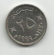 Oman 25 Baisa 1999. - Oman