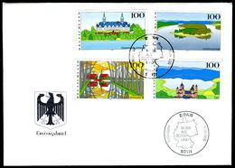 00628) BRD - Mi 1849 / 1852 - FDC - Bilder Aus Deutschland IV - FDC: Brieven