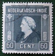 Koningin Wilhelmina 60 Ct NVPH 314 1945-1946 Gestempeld / Used NEDERLAND INDIE / DUTCH INDIES - Niederländisch-Indien