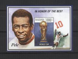 TANZANIE  BF 50A  * *   Cup  1994  Football  Fussball   Soccer Pelé - World Cup