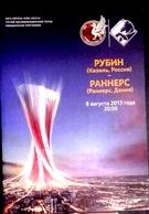 Football Program -   F.C.  RUBIN  Kazan  V  F.C.  RANDERS , 2013 ,  EURO - CUP - Books
