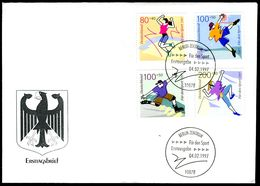 00634) BRD - Mi 1896 / 1901 - FDC - Sporthilfe 97 - FDC: Brieven