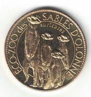 Medaille Arthus Bertrand 85.Les Sables D'Olonne - Zoo Les Suricates 2010 Neuve - Arthus Bertrand