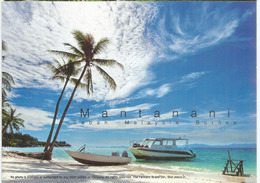Mantanani Island Beach,north-west Coast Of The State Of Sabah, Carte Postale Neuve, Non Circulée - Malaysia