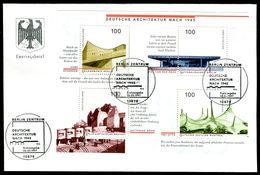00637) BRD - Mi Block 37 = 1906 / 1909 - FDC - Architektur Nach 1945 - FDC: Covers