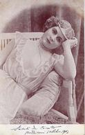 Donnina - Con Perle - Formato Piccolo Viaggiata – Ad - Women