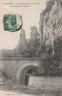 Carte Postale Ancienne De L'Isère - Crémieu - Les Gorges De La Fusa - Le Pain De Sucre - Crémieu