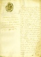 1836 , PRIMERA GUERRA CARLISTA. SEGOVIA , MARTÍN MUÑOZ DE LAS POSADAS , PROFUGO DEL SORTEO DE LOS 50.000 HOMBRES - Documentos Históricos