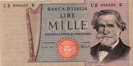 ITALIA 1000 LIRE -1973 P-101-AUNC++ - [ 2] 1946-… : République