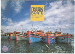 Fishing Boats, Kota Kinabalu, Sabah.Borneo., Carte Postale Neuve, Non Circulée - Malaysia