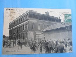 Carte Postale Denain Sortie Des Ateliers Cail - Industrie