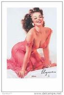 Pin Ups Of GIL ELVGREN Postcard RPPC - (106) Mimi, 1956 - Size 15x10 Cm.aprox. - Pin-Ups