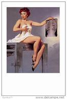 Pin Ups Of GIL ELVGREN Postcard RPPC - (135) Over Exposure, 1959 - Size 15x10 Cm.aprox. - Pin-Ups