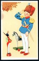 B0572 - Glückwunschkarte - Nußknacker Weihnachten - Gel 1942 - Ohne Zuordnung