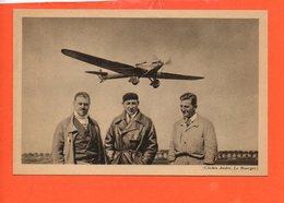 """AVION - Le """" Trait D'Union """", Avion De Raid Dewoitine - Hispano Suiza 650 CV - équipage Doret, Le Brix, Mesmin - Avions"""