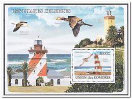 Comoren 2008, Postfris MNH, Birds, Lighthouses - Comoren (1975-...)