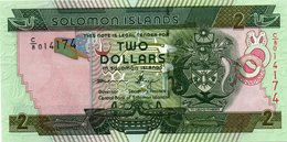 SOLOMON ISLANDS-2 DOLLARS- P-25-UNC - Isola Salomon