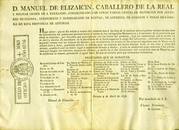 1836 , ASTURIAS , REMATE DE PRÉSTAMOS PERTENECIENTES A VARIOS EXTINGUIDOS MONASTERIOS Y CONVENTOS , RRR - Documentos Históricos