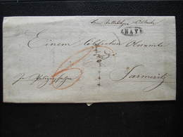 BRIEF Znaim Znaym - Jarmeritz Selletitz Zeletice 1832   //  D*32300 - ...-1850 Vorphilatelie