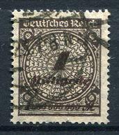 41305) DEUTSCHES REICH # 325 Wb Gestempelt GEPRÜFT Aus 1923, 120.- € - Germany