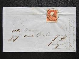 BRIEF Cavarzere  - Venezia Lombardia Lombardien 1860 //  D*32302 - 1850-1918 Imperium