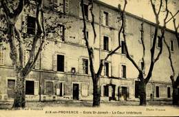 13- AIX-EN-PROVENCE / ECOLE St-JOSEPH LA COUR INTERIEURE / A 188 - Aix En Provence