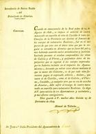 1829 , INTENDENCIA DE RENTAS REALES , ARBITRIO DE 4 MARAVEDIS EN CUARTILLO DE VINO DE CASTILLA - Documentos Históricos