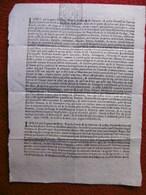 JUDAICA JACOB LAMBERT BANQUIER JUIF 1716 ESCROQUERIE BILLETS LETTRES DE CHANGE A LIRE - Historische Dokumente