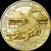 26 PIERRELATTE FERME AUX CROCODILES N°3 MÉDAILLE ARTHUS BERTRAND 2010 JETON MEDALS TOKEN COINS - Arthus Bertrand