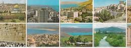 ISRAEL. PHOTOSET SOUVENIR LAMBRANÇA GRUSS AUS. POCKET SIZE 7.5x10.5 CM. CIRCA 1980's.-BLEUP - Israël