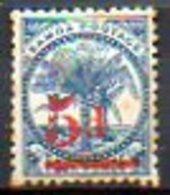 OCEANIE - SAMOA - (Poste Locale) - 1894 - N° 19 - 5 D. S. 4 P. Bleu - ((Palmiers) - Samoa