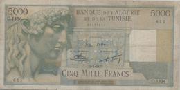 ALGERIE      5000 Francs   1955 - Algeria