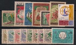 Algérie - Année Complète 1963 - N°Yv. 369 à 384 - Neuf Luxe ** - MNH - Postfrisch - Algérie (1962-...)