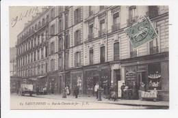 CPA 93 SAINT DENIS Rue Du Chemin De Fer - Saint Denis