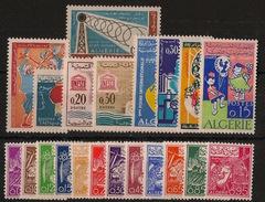 Algérie - Année Complète 1964 - N°Yv. 385 à 404 - Neuf Luxe ** / MNH / Postfrisch - Algérie (1962-...)