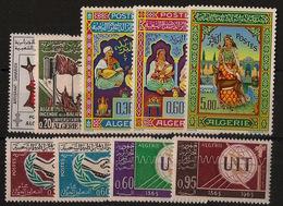 Algérie - Année Complète 1965 - N°Yv. 405 à 413 - Neuf Luxe ** - MNH - Postfrisch - Algérie (1962-...)