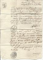 Bouches Du Rhone - Aix Pour Un Soldat à La Compagnie Des Voltigeurs à Vannes (Morbihan). Tarif Militaire - Postmark Collection (Covers)