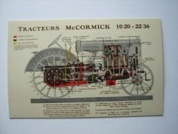 """SUPERBE CPA TRACTEURS 10/20=22/36 """"  MC CORMICK"""",1931,  ,MATERIEL AGRICOLE,TRACTEUR,LIEUSE - Tractors"""
