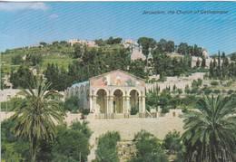 JERUSALEM, THE CHURCH OF GETHSEMANE. OLD CITY, STAR CARDS. CIRCA 1980's. ISRAEL.-BLEUP - Israël