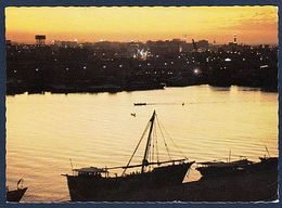 (1952) Dubai U.A.E. (Sonnenuntergang) (C-3) - Dubai