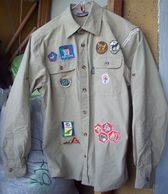 Netherlands Scouts Shirt - 14 Patches - Scoutisme