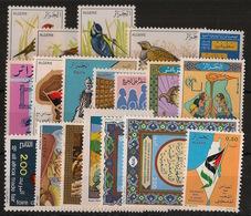Algérie - Année Complète 1976 - N°Yv. 635 à 653 - Neuf Luxe ** / MNH / Postfrisch - Algeria (1962-...)