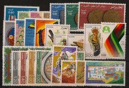 Algérie - Année Complète 1977 - N°Yv. 654 à 678 - Neuf Luxe ** / MNH / Postfrisch - Algeria (1962-...)