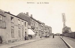 Gembloux Rue De La Station Gare De Chemin De Fer   G. Pirson Estaminet - Gembloux