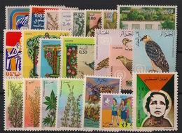 Algérie - Année Complète 1982 - N°Yv. 753 à 775 - Neuf Luxe ** / MNH / Postfrisch - Algérie (1962-...)
