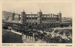 "BARCELONA , PLAZA DE TOROS "" MONUMENTAL "" , TARJETA POSTAL SIN CIRCULAR - Corridas"
