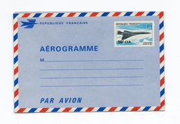 !!! PRIX FIXE : REUNION, AEROGRAMME CONCORDE NEUF - Réunion (1852-1975)