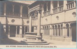 Viterbo. Chiostro Della Basilica Di S. Maria Della Quercia (Sec. Xv) - Viterbo